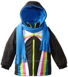 Куртка детская на возраст  3-4 года. Шарфик в комплекте.
