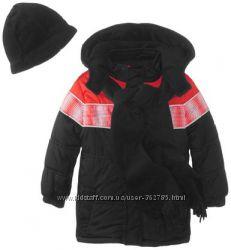 Тёплые куртки с шарфом и шапкой 3Т, на 2-3 года.