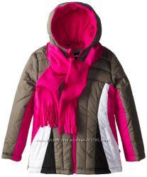 Куртка для девочки Rothschild Kids с шарфом, на 5-6 лет.