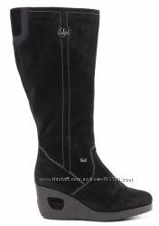 Сапоги RIEKER зима, замша, шерсть, на ногу 26см.