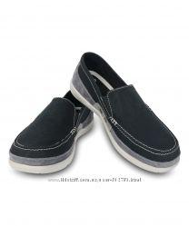 Мужские Crocs Walu Accent Loafer W10 и  W11, 28-29см.
