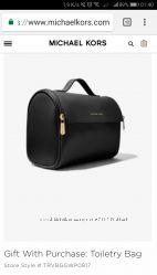 Michael Kors сумка-косметичка оригинал.