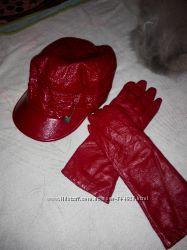 Кепка перчатки в подарок