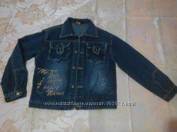 Подростковая джинсовая куртка