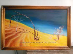 Картина Пустынный пейзаж