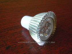 Светодиодная LED лампа mr16 gu5. 3 3W
