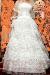 шикарное свадебное платье AliceFashion, р. 42-46