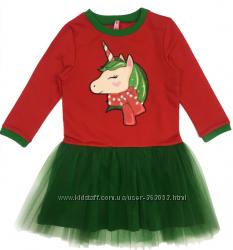 Новогодняя коллекция платьев от ТМ Видоли. р. 98-140
