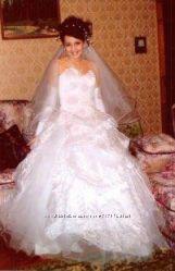 Свадебное платье размер 44-46