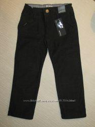 Новые плотные джинсы M&S, штаны на подкладке теплые Ruum 3, 4 г