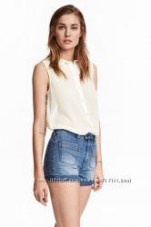 Блузка H&M вискоза шифон