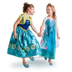 Платье Эльза карнавальный костюм FROZEN Дисней оригинал