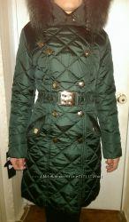 Зимнее пальто 44р на холофайбере