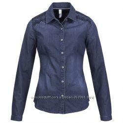 джинсовая рубашка adidas NEO Denim M61190 32 р