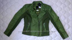 Оригинальная кожаная куртка BC Best Connection супер  размер 34-38