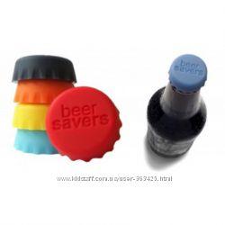 Многоразовая силиконовая крышка. Газировка пиво напитки остаются свежими