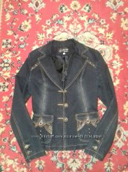 джинсовый пиджак . курточка