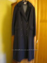Пальто деми, валяная шерсть, двубортное, новое