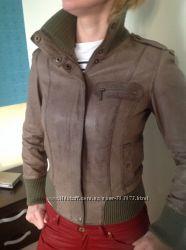 Брендовая кожаная куртка