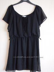 Шифоновое платье-туника
