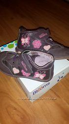 Ботинки Blooms kids  на девочку кожанные