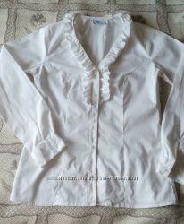 Белая рубашка на девушку 34 размер, XS, S