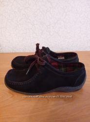 Фирменные женские мокасины туфли 39 размер