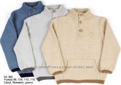 Кофты, свитер на мальчиков 98-110р. ТМ Лютик
