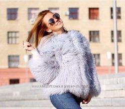 Шуба  и жилетки из ламы популярные модные
