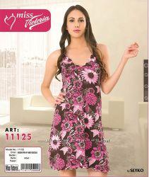Модно и дешево, разн модели, ночная рубашка, Турция, р. S - XL