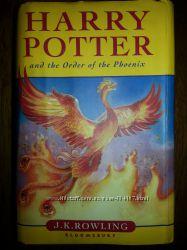 Harry Potter and Order Phenix J. K. Rowling Гарри Поттер