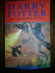 Harry Potter and the Goblet of Fire J. K. Rowling Гарри Поттер