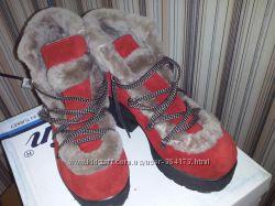 Натуральные турецкие ботиночки Palin для снежной зимы  37 р-р