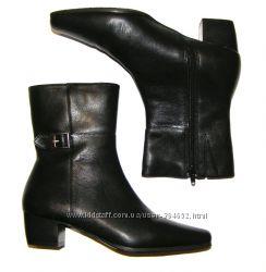 Sudini кожаные полусапожки 35 - 36 размер, 23 см стелька