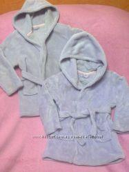 Мягенькие халатики и пижамка на 3-4года