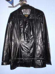 Солидная кожаная куртка, р-р XXL