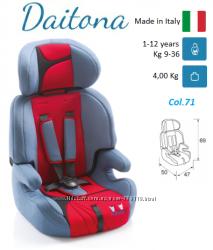 Итальянское автокресло-бустер 2В1 группы 123 от 9-36 кг