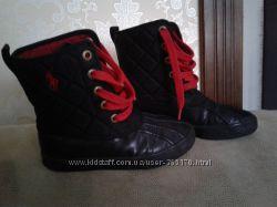 Демисезонные ботинки, сапожки Polo Ralph Lauren   Размер 12. Наш 29