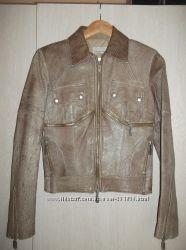 Куртка - косуха, натуральная кожа, Kor Kor Италия
