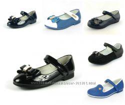 Туфли для девочек 21-30 р Большой выбор моделей