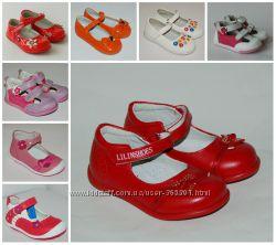 Туфли для девочек 21-26 р. Большой выбор моделей