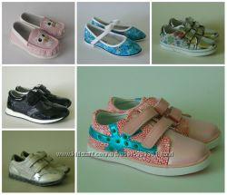 Туфли, мокасины для девочек 20-32 р Большой выбор моделей