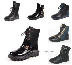 Демисезонные ботинки для девочки 31-38 р. Большой выбор моделей