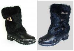 Зимние сапожки для девочки 32 размер