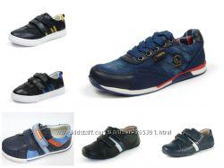 Мокасины, спортивные туфли для мальчиков 26-37 р. Большой выбор моделей