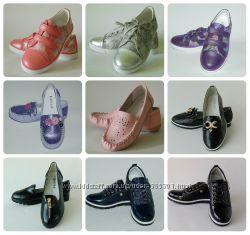 Туфли, мокасины для девочек 31-38 р. Большой выбор моделей