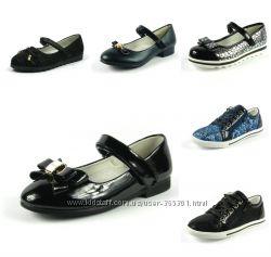 Туфли для девочек 27-37 р. Большой выбор моделей