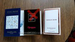 Пробники парфюмов Chanel, Guerlain, Givenchy. Оригиналы