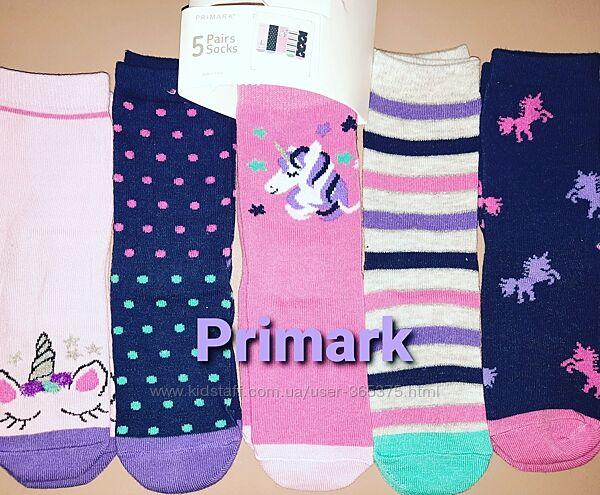 Детские носочки Примарк. Primark. Lupilu. Декатлон