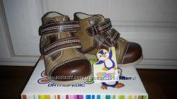 Классные ботиночки малышу MIMY, р. 19-12см. - цену снизила